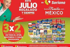 Julio Regalado 2020: 3×2 en todo el Atún, Mayonesas y Chiles envasados