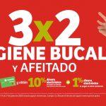 Julio Regalado 2020: 3x2 en Todo Higiene Bucal y Afeitado
