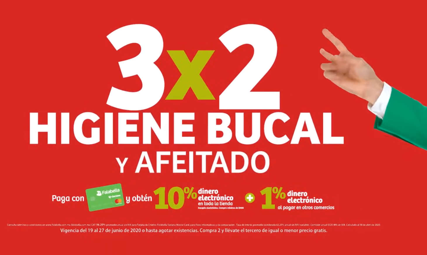 Julio Regalado 2020: 3×2 en Todo Higiene Bucal y Afeitado