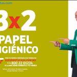 Julio Regalado 2020: 3x2 en TODO el Papel Higiénico