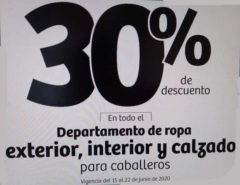 Julio Regalado 2020: 30% de descuento en ropa exterior e interior y calzado para caballeros