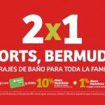 Julio Regalado 2020: 2x1 en shorts, bermudas y traje de baño para toda la Familia