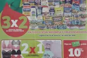 Soriana Mercado y Express - Folleto Julio Regalado del 26 de junio al 2 de julio 2020