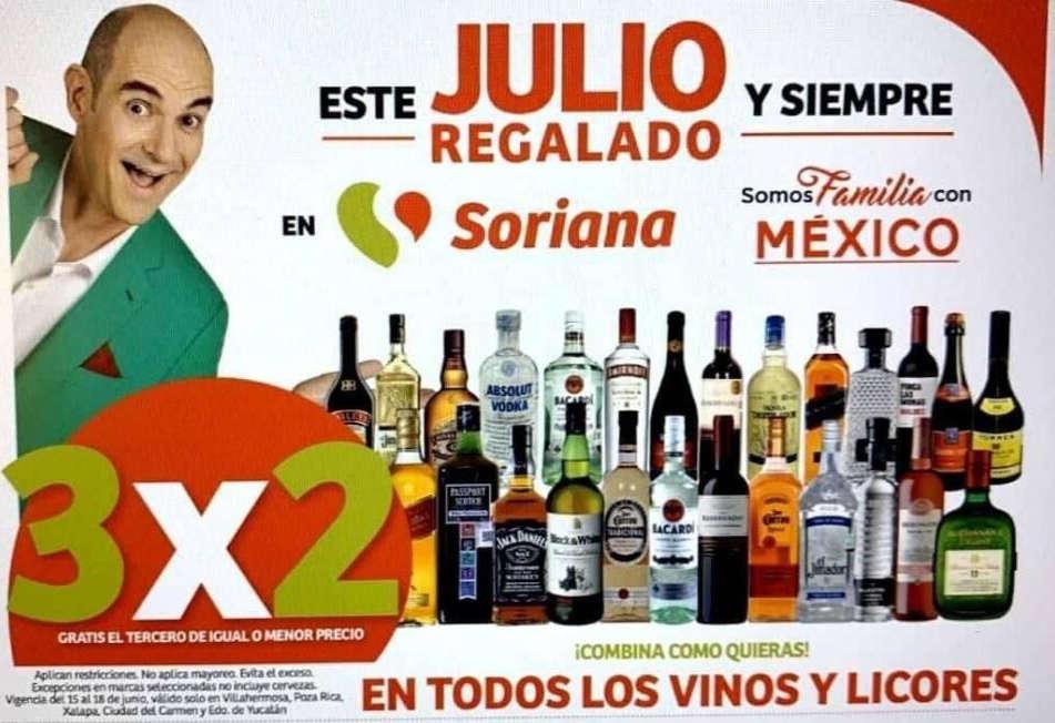 Julio Regalado 2020: 3×2 en todos los Vinos y Licores