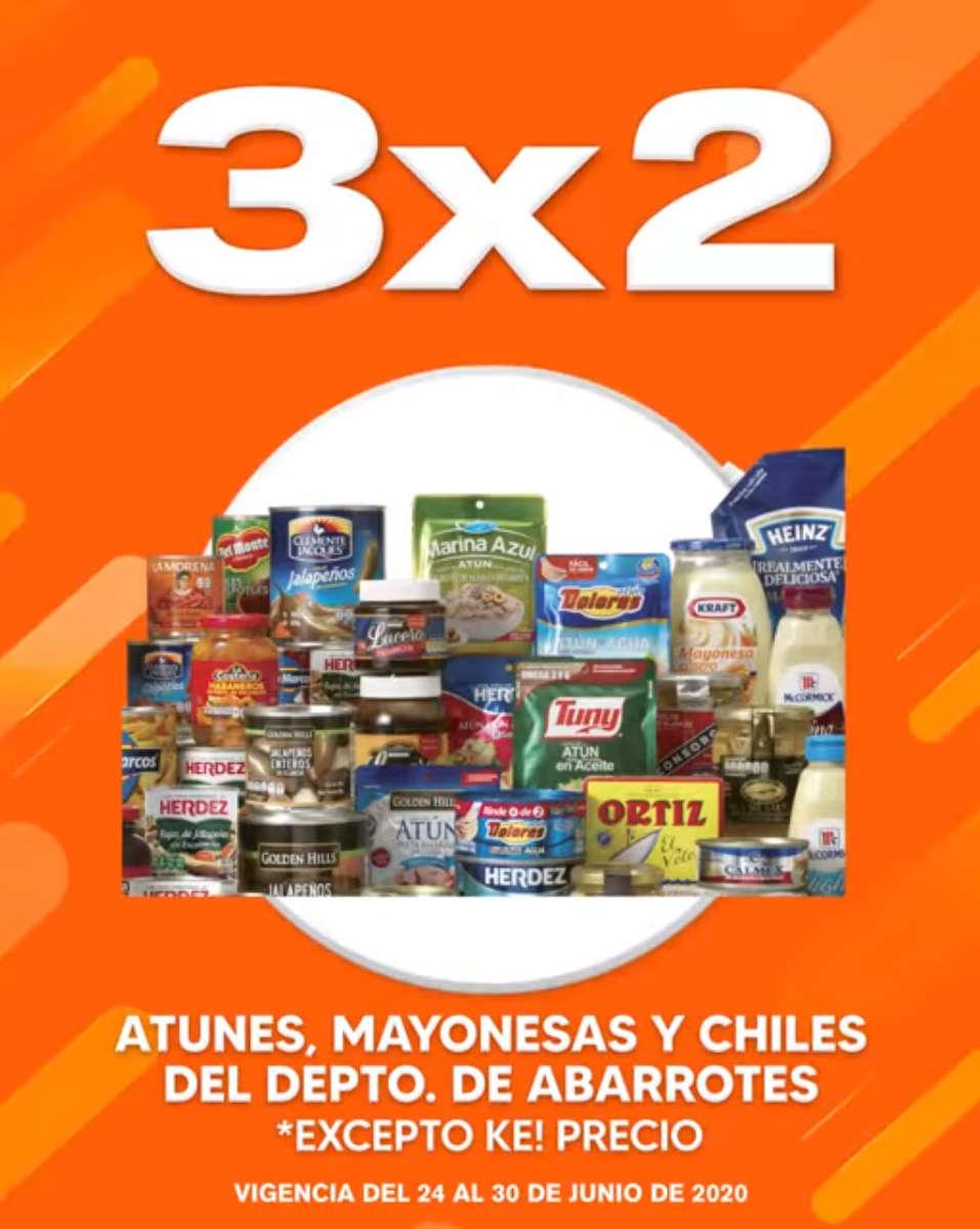 Temporada Naranja 2020: 3×2 en atunes, mayonesas y chiles envasados