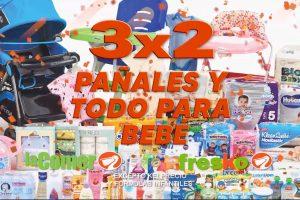 Temporada Naranja 2020: 3x2 en pañales y todo para Bebés