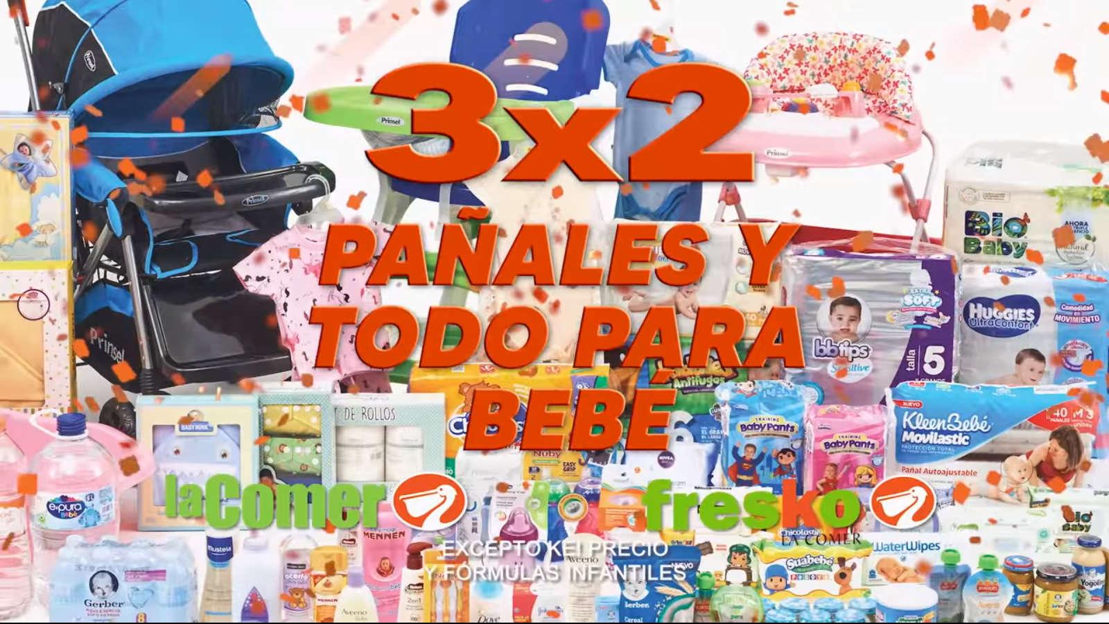 Temporada Naranja 2020: 3×2 en pañales y todo para Bebés