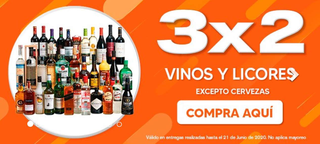 Temporada Naranja 2020 en La Comer y Fresko: 3×2 en Vinos y Licores