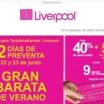 Gran Barata de Verano Liverpool 2020: hasta 40% de descuento