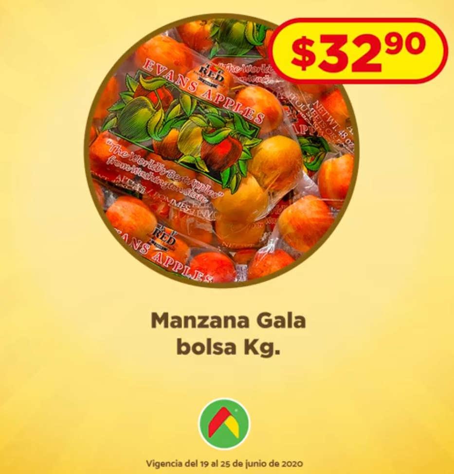 Ofertas Bodega Aurrerá frutas y verduras Tianguis de Mamá Lucha 19 al 25 de junio 2020