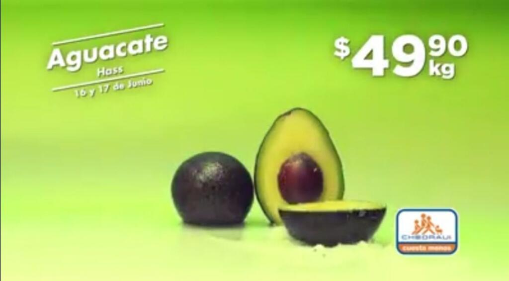 Frutas y Verduras Chedraui 16 y 17 de junio 2020