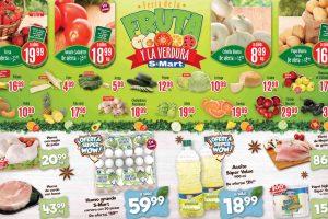 Folleto S-Mart frutas y verduras del 2 al 4 de junio de 2020