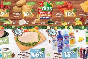 Folleto S-Mart frutas y verduras del 9 al 11 de junio de 2020