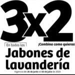 Julio Regalado 2020: 3×2 en Jabones de Lavandería como Zote y más