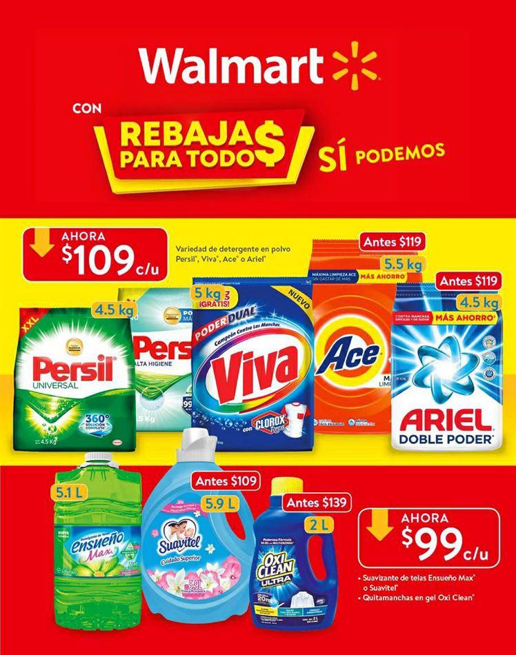 Folleto de ofertas Walmart Rebajas para Todos del 26 de junio al 14 de julio 2020