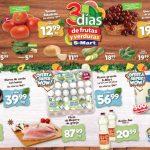 Folleto S-Mart frutas y verduras del 14 al 16 de julio de 2020