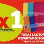 Julio Regalado 2020 en Soriana: 2×1 en toallas de Blancos