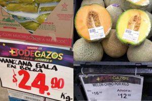 Folleto Bodega Aurrerá frutas y verduras Tianguis de Mamá Lucha 27 al 30 de julio 2020