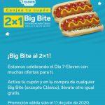 7-Eleven: Cupón 2x1 en Big Bite Variedad de Sabores