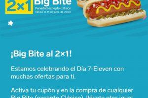 7-Eleven: Cupón 2×1 en Big Bite Variedad de Sabores