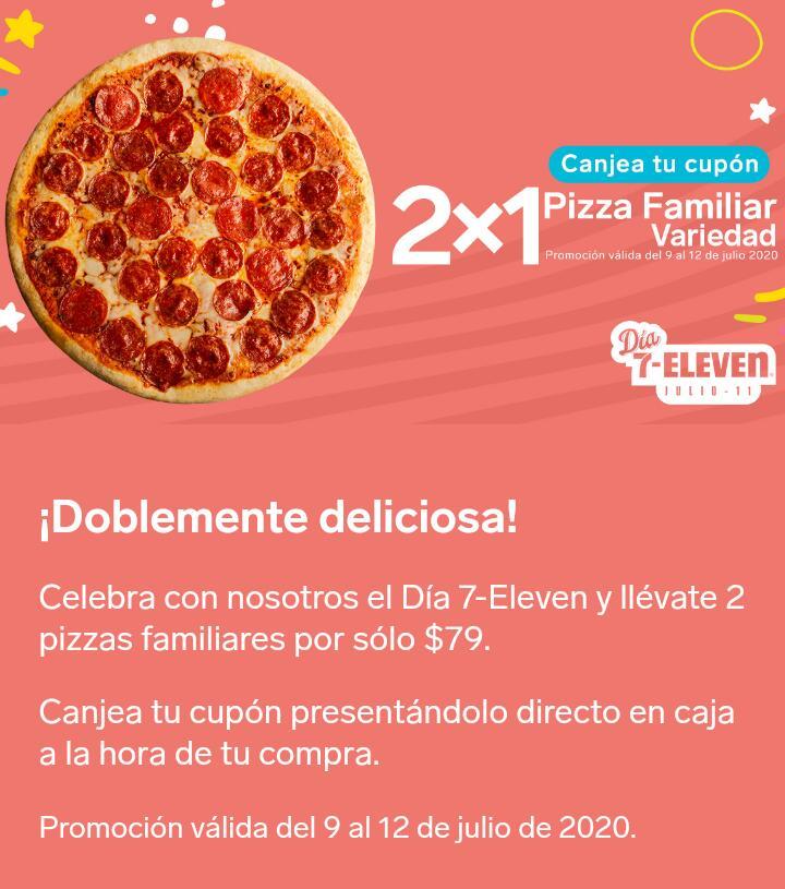 Promociones Día 7-Eleven 2020: 2×1 en hot dogs, pizzas y más