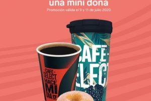 7 Eleven: Dona Gratis en la compra de un café Select o relleno