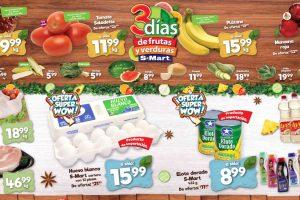 Folleto S-Mart frutas y verduras del 7 al 9 de julio de 2020