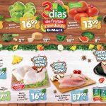 Folleto S-Mart frutas y verduras del 21 al 23 de julio de 2020