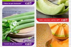 Folleto Superama Frutas y Verduras Especiales de la Quincena del 1 al 31 de julio 2020