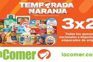 Folleto La Comer Temporada Naranja 2020 del 3 al 9 de julio