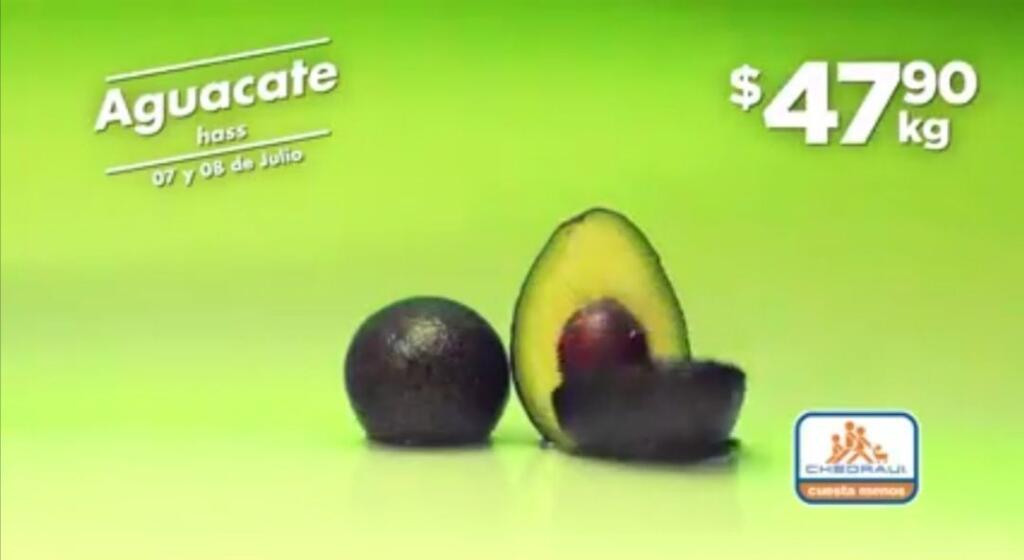 Frutas y Verduras Chedraui 7 y 8 de julio 2020