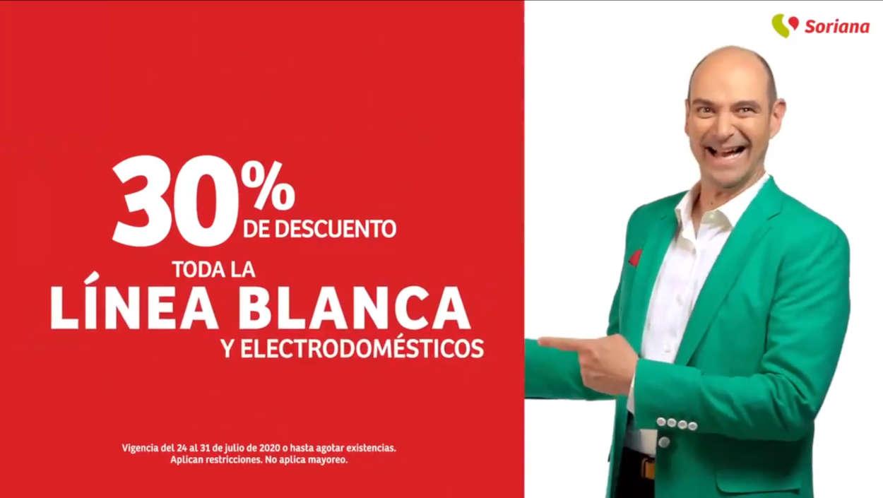 Soriana Julio Regalado 2020: 30% de descuento en línea blanca y electrodomésticos