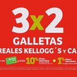 Julio Regalado 2020: 3x2 en Galletas, Café y Cereales Kellogg's