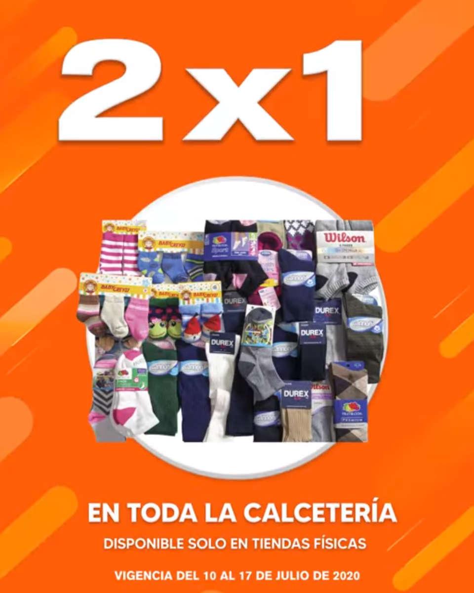 Temporada Naranja 2020: 2×1 en toda la calcetería