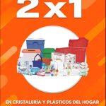 La Comer Temporada Naranja 2020: 2x1 en Refractarios, Cristalería y Plásticos del Hogar