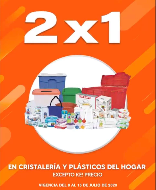 La Comer Temporada Naranja 2020: 2×1 en Refractarios, Cristalería y Plásticos del Hogar
