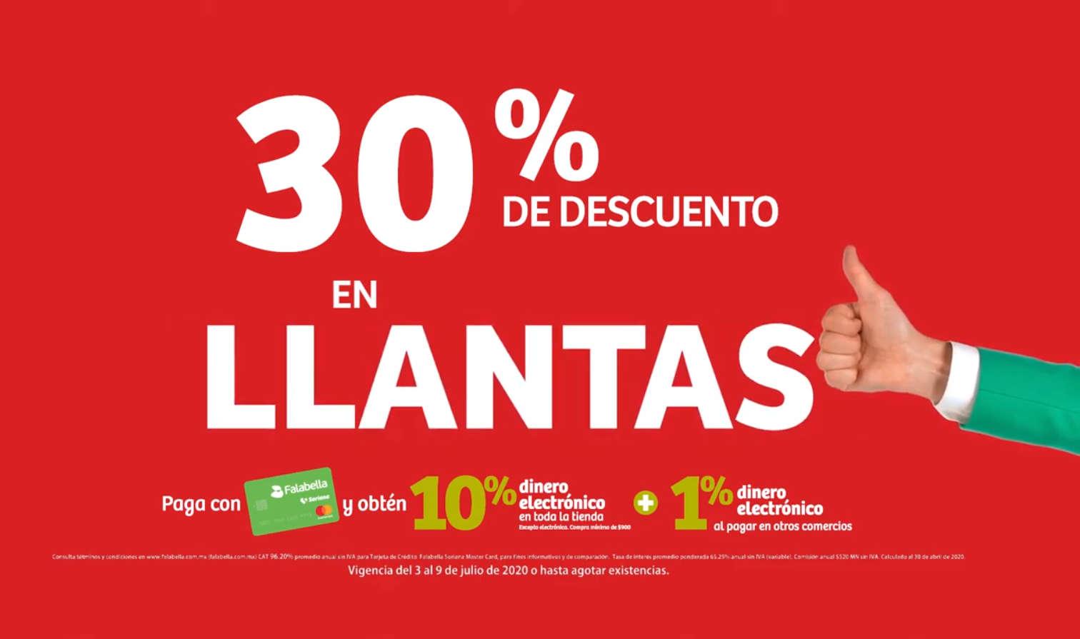 Soriana Julio Regalado 2020: 30% en todas las Llantas