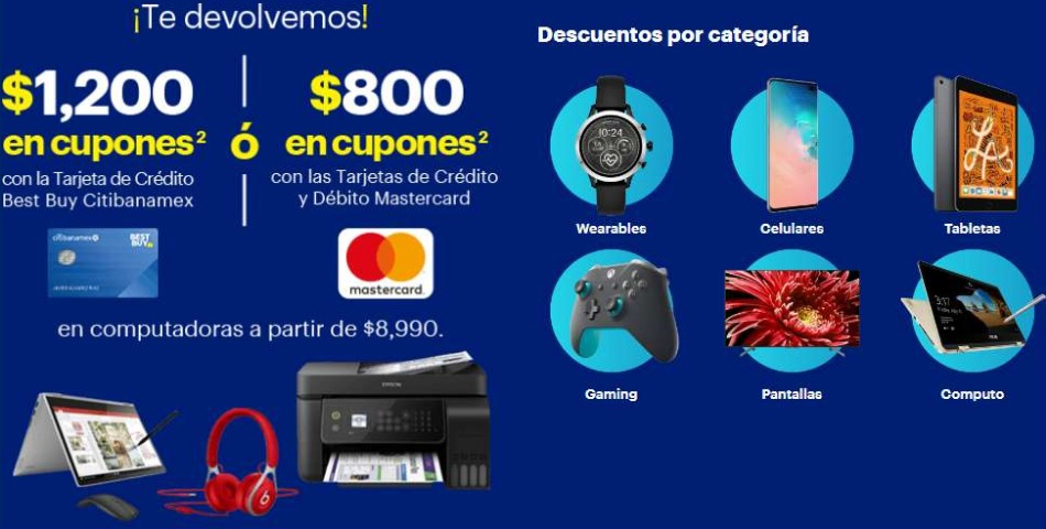 Mega Venta Back To School 2020 en Best Buy del 30 de julio al 5 de Agosto