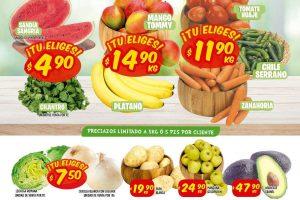 Folleto Mi Tienda del Ahorro Frutas y Verduras del 28 al 30 de julio 2020