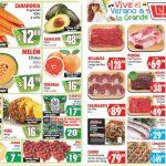 Folleto Casa Ley Frutas y verduras 14 y 15 de julio 2020