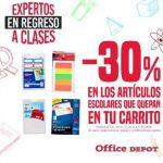 Promoción expertos en Regreso a Clases en Office Depot del 29 al 31 de julio