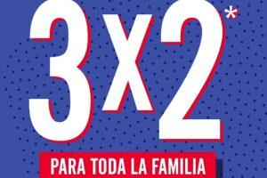 C&A: 3×2 o 30% de descuento en playeras para toda la familia