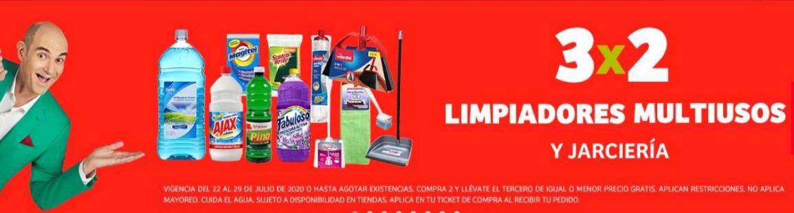 Julio Regalado 2020 en Soriana 3×2 en limpiadores de piso y Jarciería