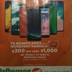 Temporada Naranja 2020: $300 en monedero naranja por cada $1000 en Telefonía Celular