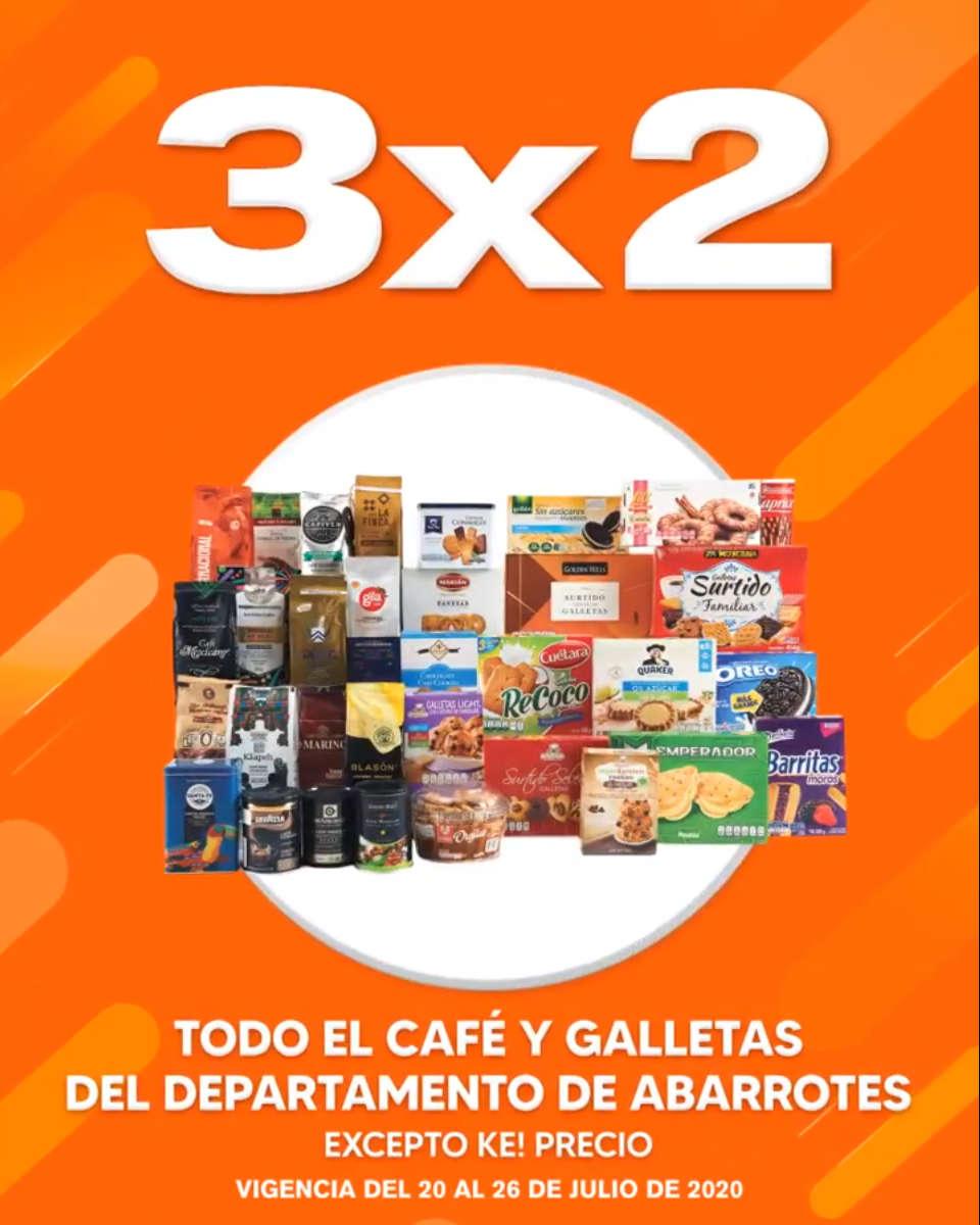 Temporada Naranja 2020: 3×2 en TODO el Café y Galletas