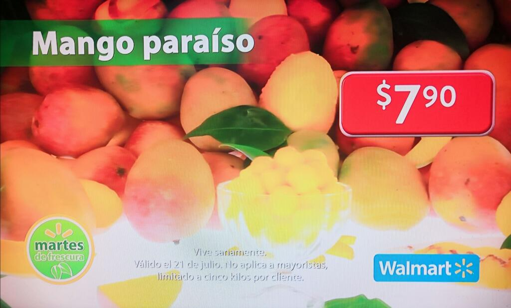 Folleto Martes de Frescura Walmart 21 de julio 2020