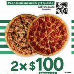 7 Eleven: Pizza Familiar Pepperoni, Mexicana y 3 quesos 2x$100