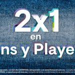 2×1 en jeans y playeras en Aeropostale y Liverpool