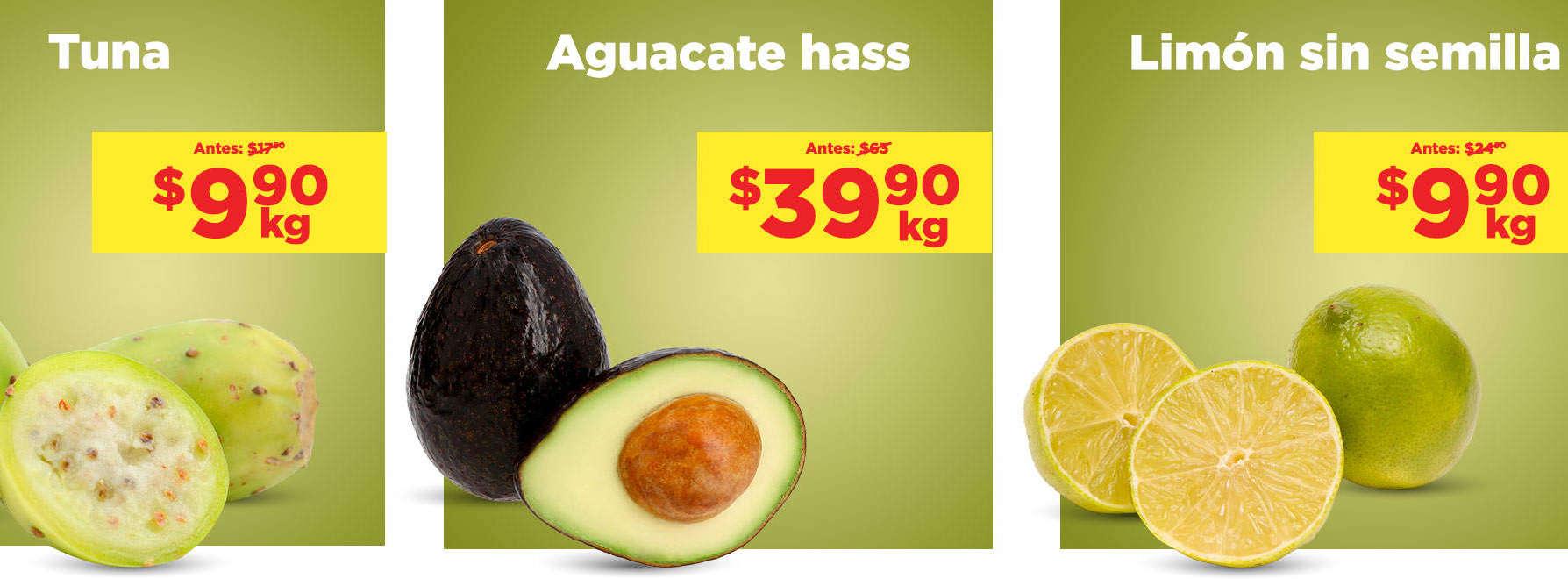 Frutas y Verduras Chedraui 4 y 5 de agosto 2020