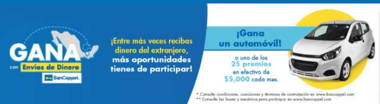 Promocion Bancoppel Gana un Automóvil y Premios de $5,000